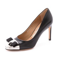 Nina Cap Toe Pumps