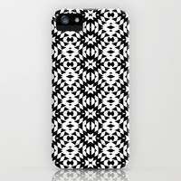 Black And White Mix iPhone & iPod Case by Ornaart