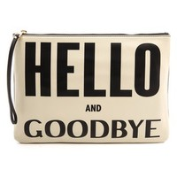 Hello & Goodbye Clutch