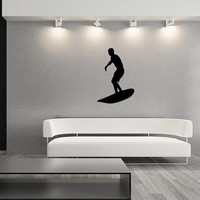 Surfer Style B Vinyl Wall Decal 22428