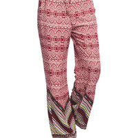 Boho Wide Leg Pant | Wet Seal