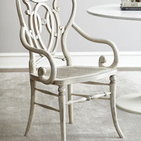 &quot;Davinia&quot; Rattan-Seat Chair - Neiman Marcus