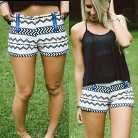 May I Have Your Attention Shorts - Piace Boutique