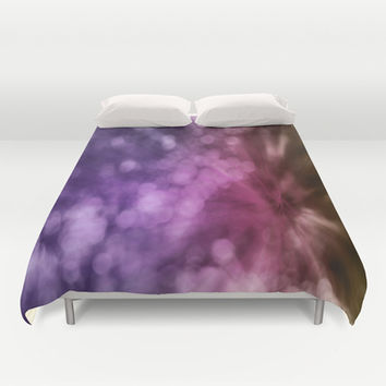 Bokeh I Duvet Cover by VanessaGF