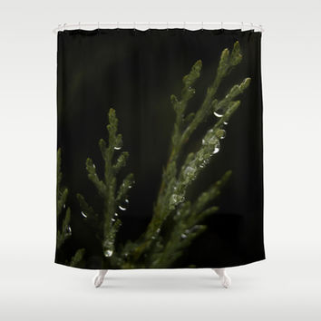 Pine branch Shower Curtain by VanessaGF