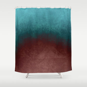 abstract texture Shower Curtain by VanessaGF