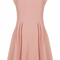CREPE SEAM FLIPPY DRESS