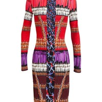 PETER PILOTTO | Printed Jersey Long Sleeve Dress | Browns fashion & designer clothes & clothing