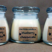 Pick Any 3 Soy Jar Candles Your Choice Scented by littlecandles