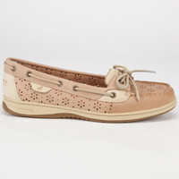 Sperry Top-Sider Angelfish Womens Boat Shoes Light Tan  In Sizes
