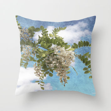 Flowers I Throw Pillow by VanessaGF