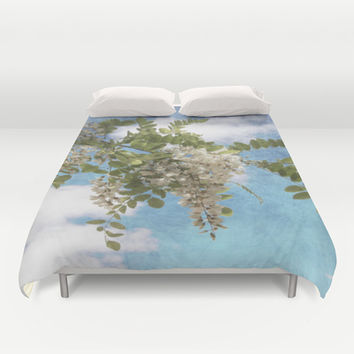 Flowers I Duvet Cover by VanessaGF