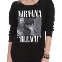Nirvana Bleach Long-Sleeved Girls T-Shirt 2XL