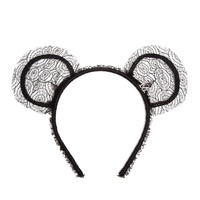 MAISON MICHEL | Heidi Lace Bear-Ear Headband | Browns fashion & designer clothes & clothing