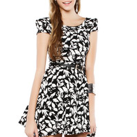 Papaya Clothing Online :: FLORAL FLARE SHORT DRESS