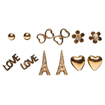 Love in Paris Earring Set | Wet Seal
