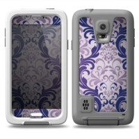 The Royal Purple Laced Wallpaper Skin Samsung Galaxy S5 frē LifeProof Case