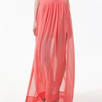 LONG SKIRT WITH SPLITS - Skirts - Woman - ZARA Canada