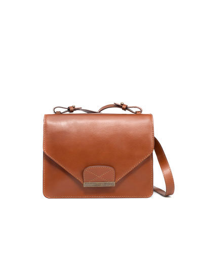 MESSENGER BAG WITH TRIANGULAR FLAP - Messenger bags - Handbags - Woman - ZARA Canada