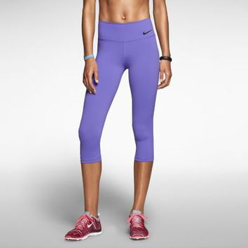 Nike Legendary Tight Women's Training Capris - Purple Haze