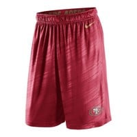 Nike Fly Warp NFL San Francisco 49ers Men's Training Shorts - Gym Red