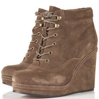 ANDREAS Wedge Lace Up Boots - New In This Week  - New In  - Topshop