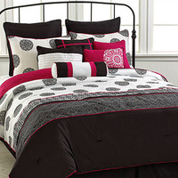CLOSEOUT! Geneva 12 Piece Queen Comforter Set