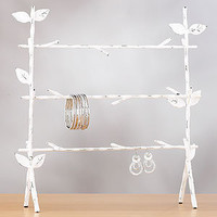 3-Branch Jewelry Stand, White | Jewelry and Accessories | World Market