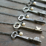 Escape Artist Necklace - $25.50 : Pangea Handmade, Vintage-Inspired Jewelry and Accessories