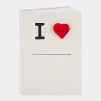 I (HEART) Notebook | MoMA