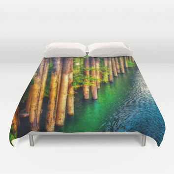 River Front Duvet Cover by DuckyB (Brandi)