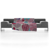 DENY Designs Home Accessories | Rachael Taylor Textured Geo 1 Fleece Throw Blanket