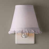 Ruffle Nightlight Lilac