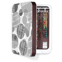 DENY Designs Home Accessories | Rachael Taylor Textured Geo Gray 1 BlingBox 2ct
