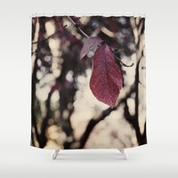 autumn leaf  Shower Curtain by VanessaGF