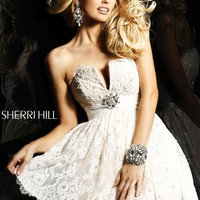 Sherri Hill Strapless Party Dress 2954