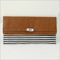 Pinstripe Nautical Clutch