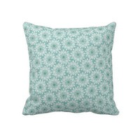 Fun Flowers Pillows from Zazzle.com