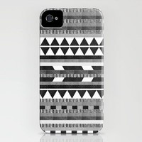 DG Aztec No.1 Monotone iPhone Case | Print Shop