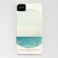 Salt Water Cure iPhone Case by Tina Crespo | Society6