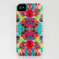 Tropical Floral iPhone Case by Amy Sia | Society6