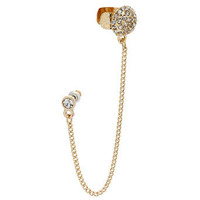Sparkle Bead Ear Cuff 