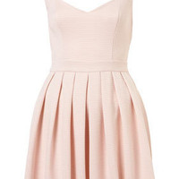 Heart Back Rib Prom Dress - Dresses  - Clothing  - Topshop