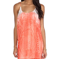 Parker Norah Dress in Orange