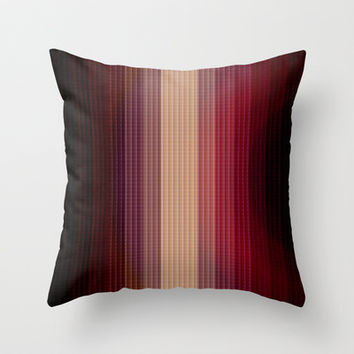 Geometric 10 Throw Pillow by VanessaGF
