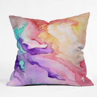 DENY Designs Home Accessories | Rosie Brown Color My World Throw Pillow