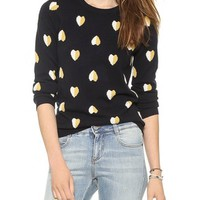 Queen of Hearts Cashmere Sweater