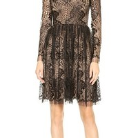 Web Lace Dress