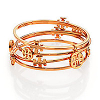 Tory Burch - Logo Bangle Set - Saks Fifth Avenue Mobile