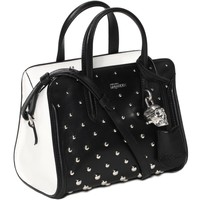 Studded Padlock Small Zip Around Alexander McQueen | Top Handle | Bags |